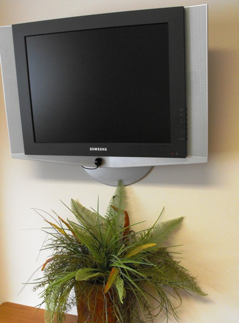 All Rehabilitation Rooms Come with Flat Screen Televisions