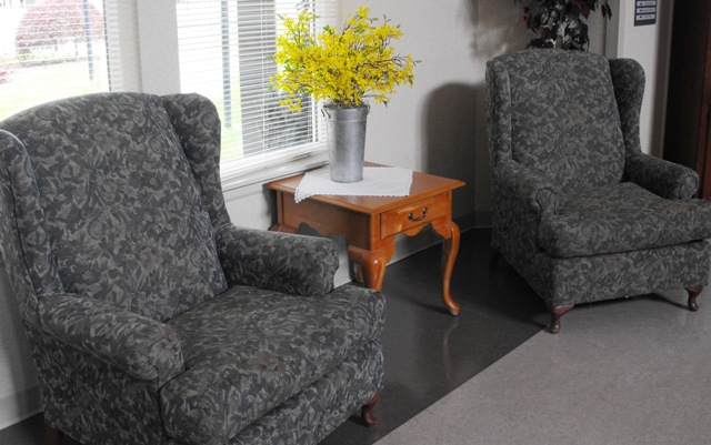 Comfortable Places to Rest or Visit with Family
