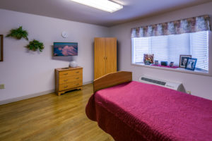 Private rehabilitation room -- rest, recover and return home post op with CHCC nursing care and rehab