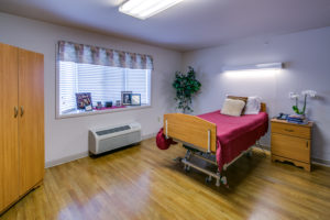 Spacious, private rehabilitation room - perfect for post-op care
