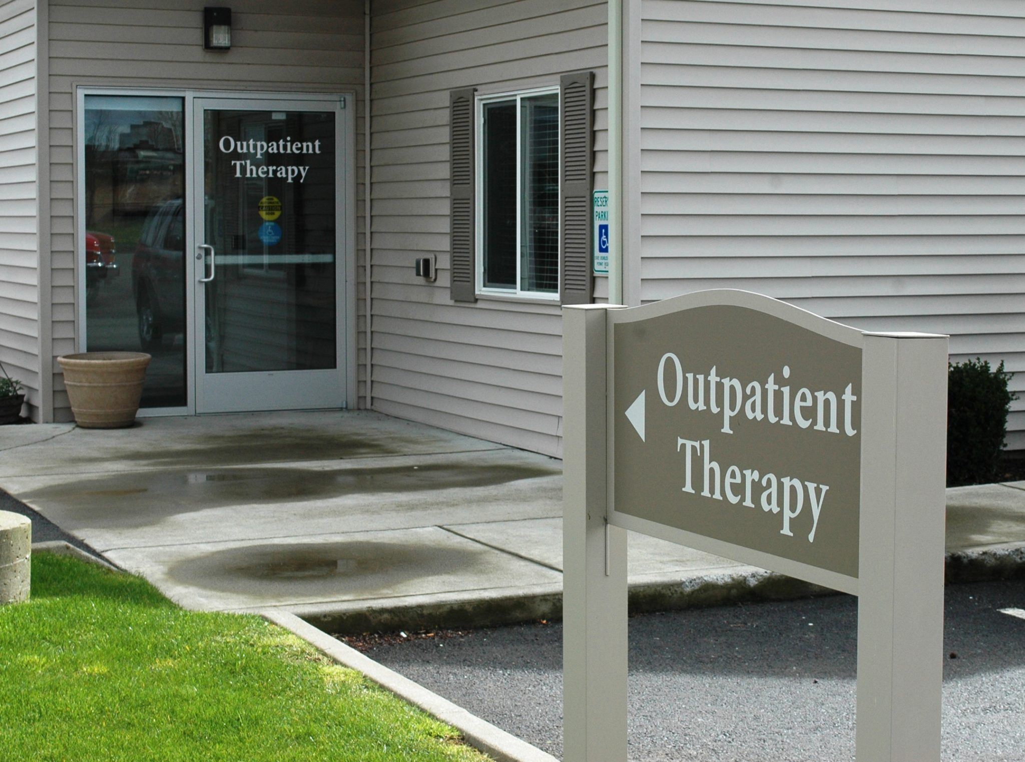 Entrance to Outpatient Therapy