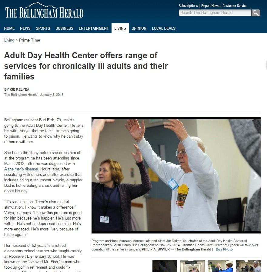 Whatcom County Adult Day Health
